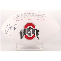 Cardale Jones Signed Ohio State Buckeyes Logo Football (JSA Hologram)