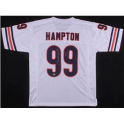 "Dan Hampton Signed Chicago Bears Jersey Inscribed ""HOF 2002"" (Beckett COA)"