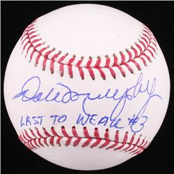 "Dale Murphy Signed OML Baseball Inscribed ""Last to Wear #3"" (Radtke COA)"