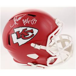 Marcus Allen Signed Kansas City Chiefs Full-Size Speed Helmet Inscribed  HOF 03  (Beckett COA  Allen