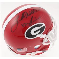 Herschel Walker Signed Georgia Bulldogs Mini Helmet Inscribed  82 Heisman  (Beckett COA)
