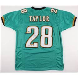 Fred Taylor Signed Jacksonville Jaguars Jersey Inscribed  11,695 Rush Yds  (Beckett COA)