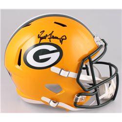 Brett Favre Signed Green Bay Packers Full-Size Speed Helmet (Radtke COA)