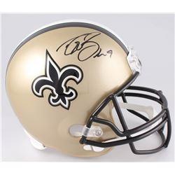 Drew Brees Signed New Orleans Saints Full-Size Helmet (Radtke COA  Brees Hologram)