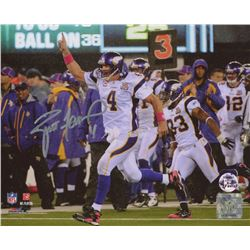 Brett Favre Signed Minnesota Vikings 8x10 Photo (Favre COA)
