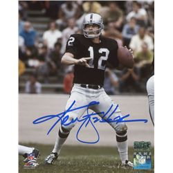Ken Stabler Signed Oakland Raiders 8x10 Photo (Radtke COA)