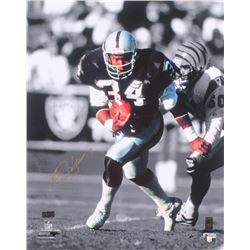 Bo Jackson Signed Oakland Raiders 16x20 Photo (Radtke COA  Jackson Hologram)