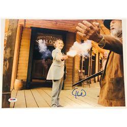 Christoph Waltz Signed  Django Unchained  11x14 Photo (PSA COA)