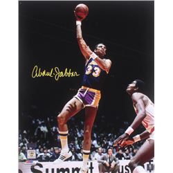 Kareem Abdul-Jabbar Signed Los Angeles Lakers 16x20 Photo (Radtke COA)