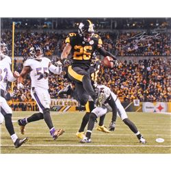Le'Veon Bell Signed Pittsburgh Steelers 16x20 Photo (JSA COA)