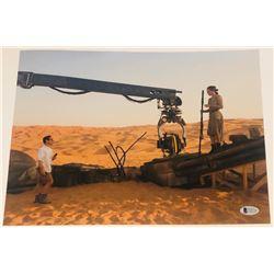 J.J. Abrams Signed  Star Wars: The Force Awakens  11x14 Photo (Beckett COA)