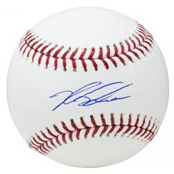 Kyle Schwarber Signed OML Baseball (SI COA)