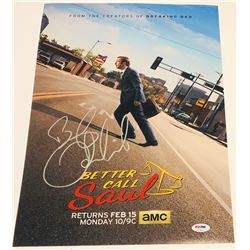 Bob Odenkirk Signed  Better Call Saul  12x18 Photo (PSA COA)