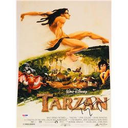 "Tony Goldwyn Signed ""Tarzan"" 12x18 Photo (PSA COA)"