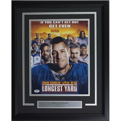 "Adam Sandler Signed ""The Longest Yard"" 16x20 Custom Framed Photo Display (PSA COA)"