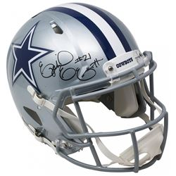Ezekiel Elliott Signed Dallas Cowboys Full-Size Authentic On-Field Speed Helmet (Beckett COA)