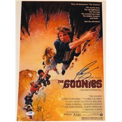"Josh Brolin Signed ""The Goonies"" 11x17 Photo (PSA COA)"