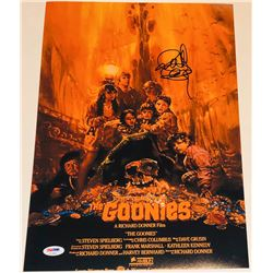 Richard Donner Signed The Goonies 11x17 Movie Poster Photo (PSA COA)