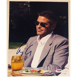 "George Clooney Signed ""Ocean's Eleven"" 8.5x11 Photo (PSA COA)"