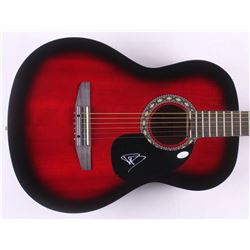 Dave Grohl Signed 38  Rogue Acoustic Guitar (JSA COA)