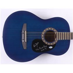Bruce Johnston Signed 38  Rogue Acoustic Guitar Inscribed  The Beach Boys    2017  (Beckett COA)