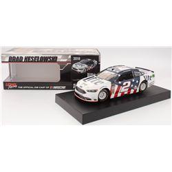 Brad Keselowski Signed 2018 NASCAR #2 Miller Lite - Patriotic - 1:24 Premium Action Diecast Car (PA