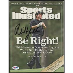 Phil Mickelson Signed 2006 Sports Illustrated Magazine (PSA Hologram)
