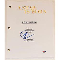 """Bradley Cooper Signed """"A Star Is Born"""" Movie Script (PSA COA)"""