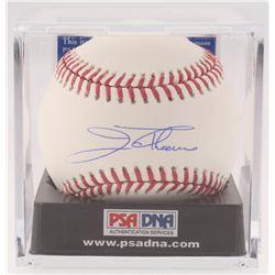 Jim Thome Signed OML Baseball (PSA COA - Graded 10)