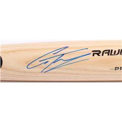 Gleyber Torres Signed Rawlings Pro Baseball Bat (JSA COA)