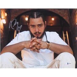 Post Malone Signed 11x14 Photo (Beckett Hologram)