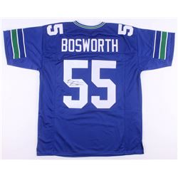 Brian Bosworth Signed Seattle Seahawks Jersey (JSA COA)