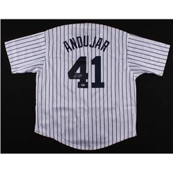 Miguel Andujar Signed New York Yankees Jersey (Beckett COA)