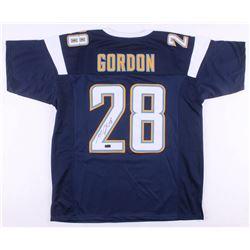 Melvin Gordon Signed Los Angeles Chargers Jersey (Radtke COA)