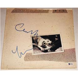 "Lindsey Buckingham  Christine McVie Signed Fleetwood Mac ""Tusk"" Vinyl Record Album (Beckett COA)"