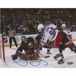 Jaromir Jagr Signed New York Rangers 8x10 Photo (Steiner Hologram)