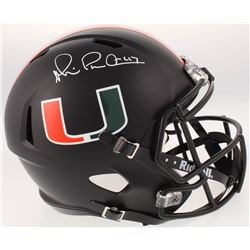 Michael Irvin Signed Miami Hurricanes Full-Size Speed Helmet (Beckett COA)