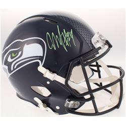 Marshawn Lynch Signed Seattle Seahawks Full-Size Authentic On-Field Speed Helmet (Radtke COA)
