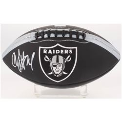 Marshawn Lynch Signed Oakland Raiders Logo Football (Radtke COA)