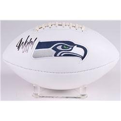 Marshawn Lynch Signed Seattle Seahawks Logo Football (Radtke COA)