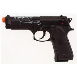 Norman Reedus  Sean Patrick Flanery Signed Airsoft Gun (Radtke COA)