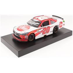 Christopher Bell Signed NASCAR #20 2018 Rheem Camry - Richmond Win - Raced Version - 1:24 Premium Ac