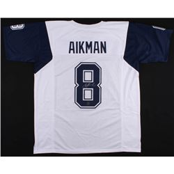 Troy Aikman Signed Dallas Cowboys Jersey (Aikman Hologram)