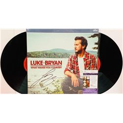 "Luke Bryan Signed ""What Makes You Country"" Double Vinyl Record Album (JSA COA)"