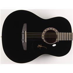 "Willie Nelson Signed 38"" Rogue Acoustic Guitar (JSA COA)"