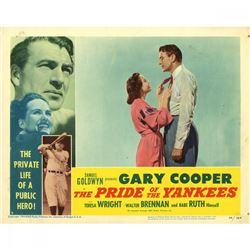 "1942 Gary Cooper ""Pride of the Yankees"" 11x14 Lobby Card"
