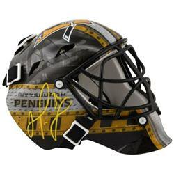 Matt Murray Signed Pittsburgh Penguins Mini Goalie Mask (Fanatics Hologram)