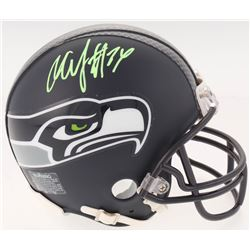 Marshawn Lynch Signed Seattle Seahawks Custom Matte Mini Helmet (Radtke COA)