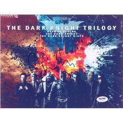 Christopher Nolan Signed  The Dark Knight  Trilogy 8x10 Photo (PSA COA)