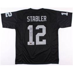 Ken Stabler Signed Oakland Raiders Jersey (Radtke COA)